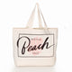 Resting Beach Face tote