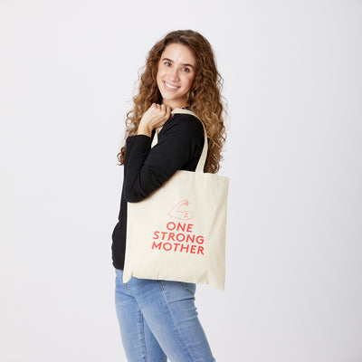 One Strong Mother tote