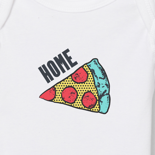 Home Slice onesie