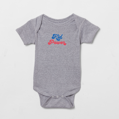 Kid Power onesie
