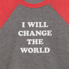 I Will Change The World toddler t-shirt