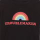 Troublemaker toddler t-shirt