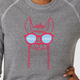 Mama Llama illustrated sweatshirt