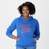 Strong Women Raise Strong Women stars hoodie