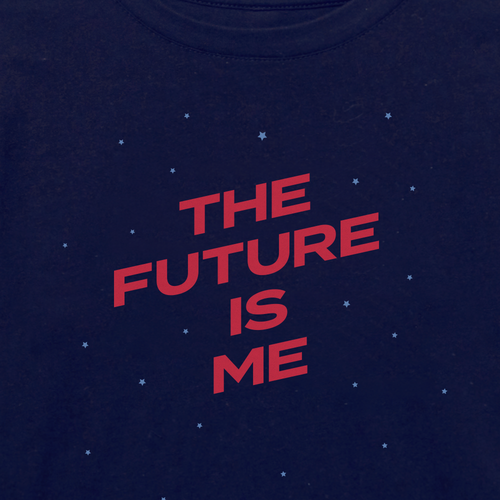 The Future is Me kids t-shirt