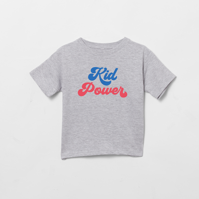Kid Power toddler t-shirt