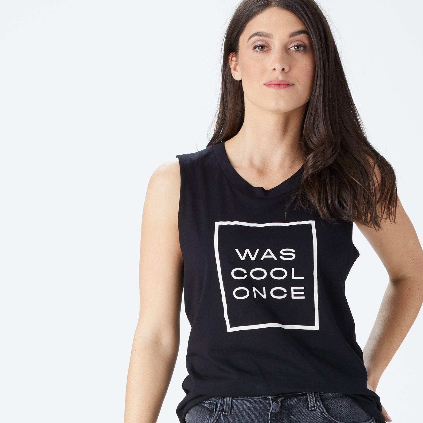 Was Cool Once tank – Scary Mommy Shop