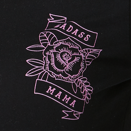 Badass Mama long sleeve t-shirt