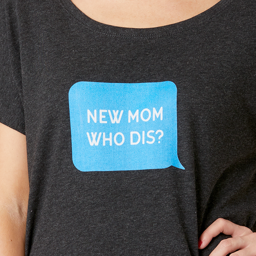 New Mom Who Dis t-shirt