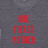 One Fierce Mother striped t-shirt