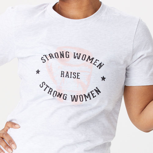 Strong Women Raise Strong Women Boxing t-shirt