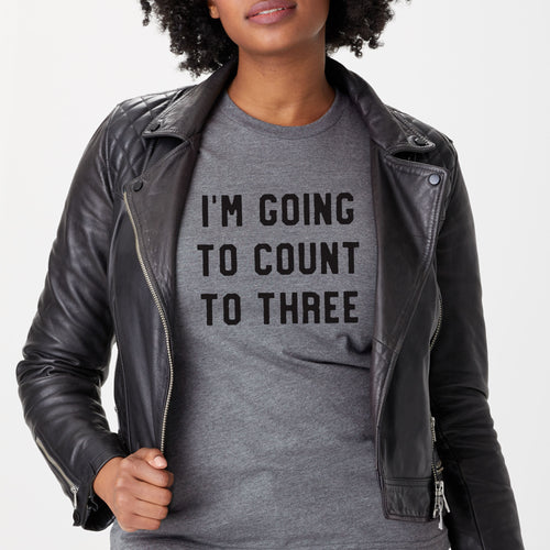 Count to Three t-shirt