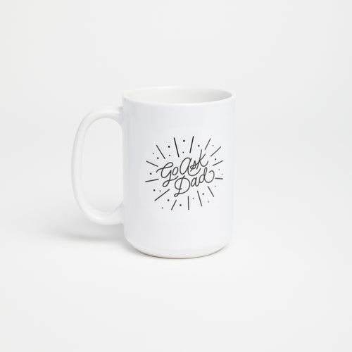 Ask Dad coffee mug