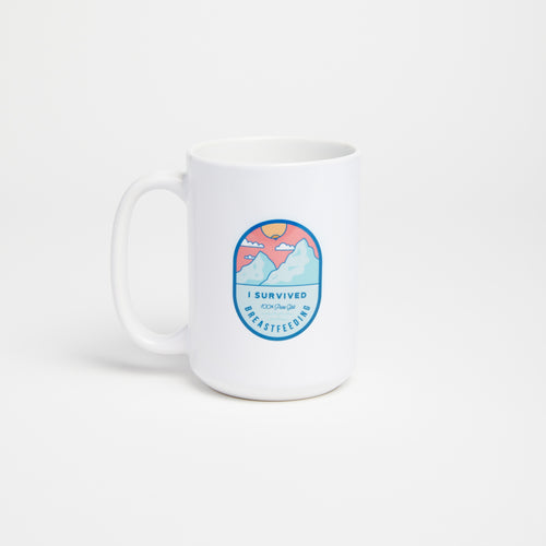 Breastfeeding Survival mug