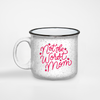 Not the Worst Mom camper mug