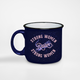 Strong Women Raise Strong Women tiger camper mug