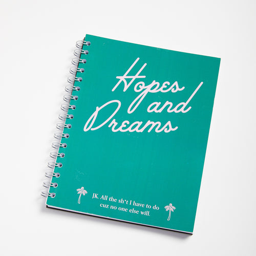 Hopes & Dreams notebook