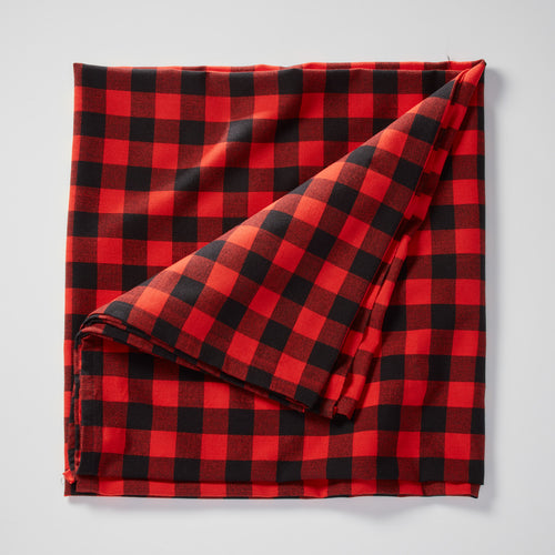 Buffalo plaid Masai blanket