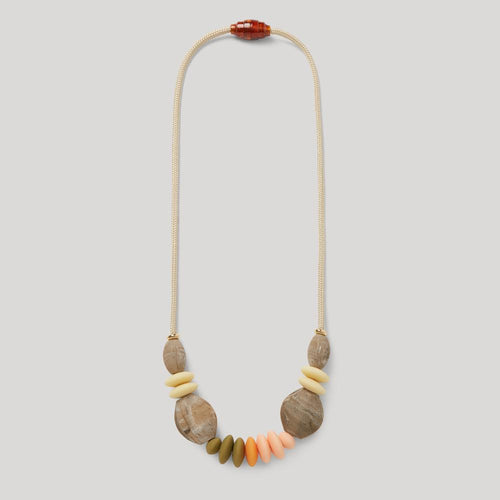Spring signature teething necklace