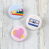 Super Rad Button Set