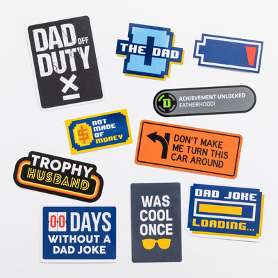 Adult Sticker Pack Dad Edition