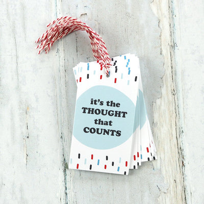 It's the Thought that Counts - Gift Tags