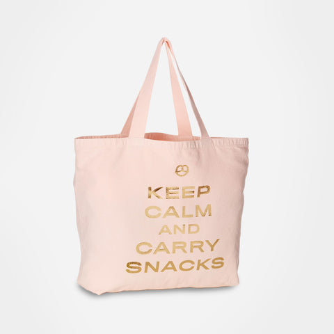 Keep Calm & Carry Snacks tote - Image