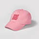 Strong Woman Raise Strong Women hat