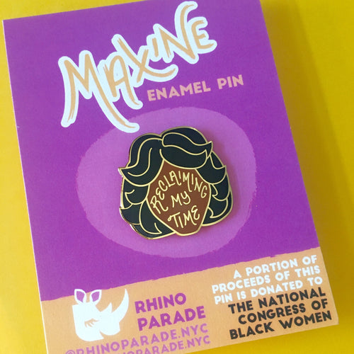 """Maxine Waters"" enamel pin"