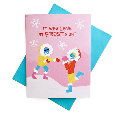 """Love at Frost Sight"" Card"