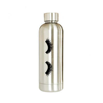 Eyelashes Metal Water Bottle
