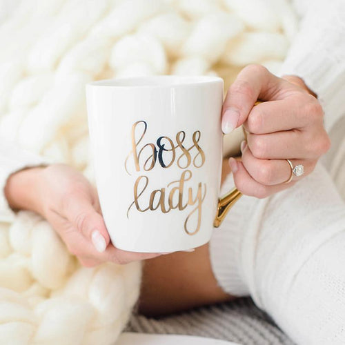 Boss Lady Gold Coffee Mug