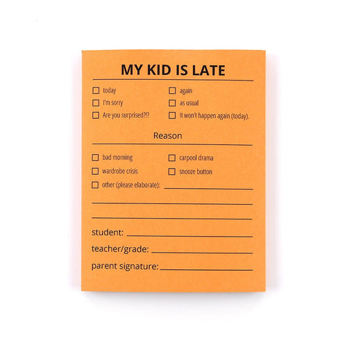 Late Notes - Kids