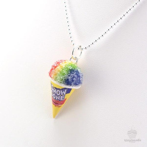 Scented or Unscented Snow Cone Necklace