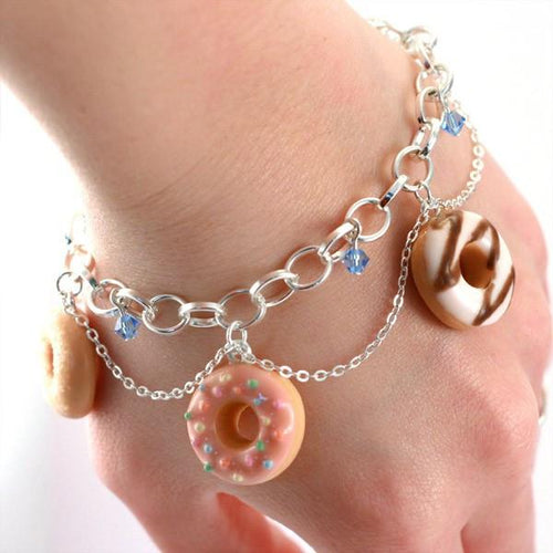 Scented or Unscented Donuts Bracelet