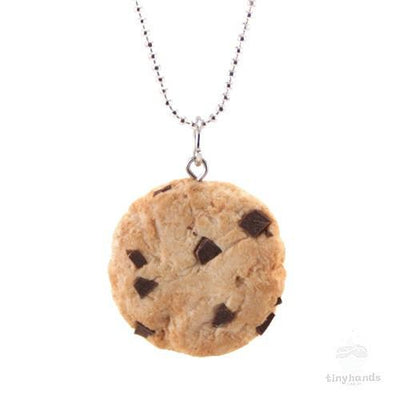 Scented or Unscented Chocolate Chip Cookie Necklace
