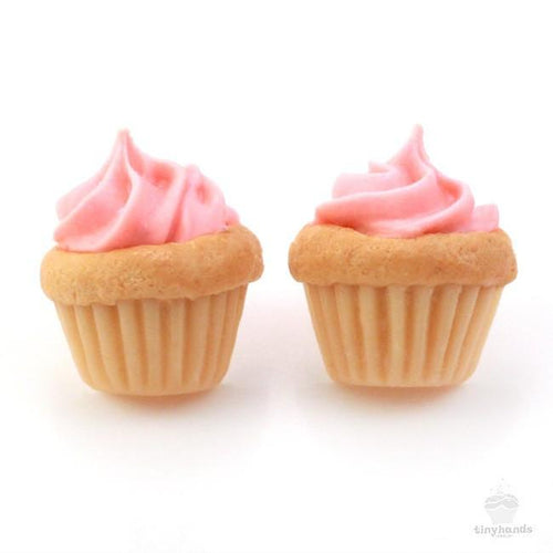 Scented or Unscented Birthday Cupcake Earstuds