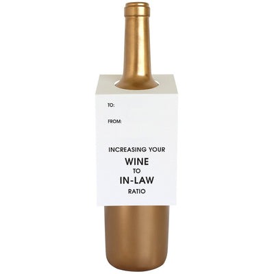 Increasing Your Wine to In-Law Ratio Wine & Spirit Tag