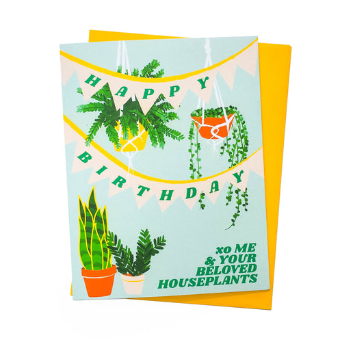 Plant Birthday Card