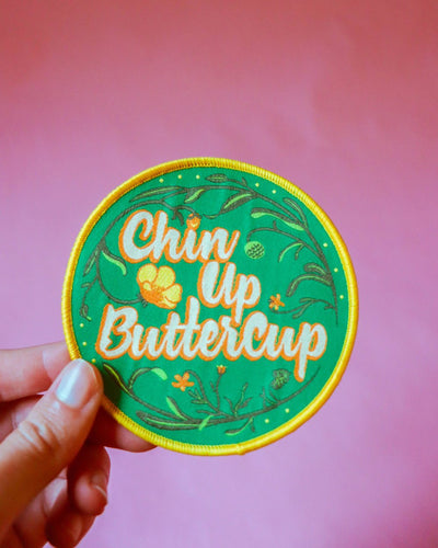 Chin Up Buttercup Patch