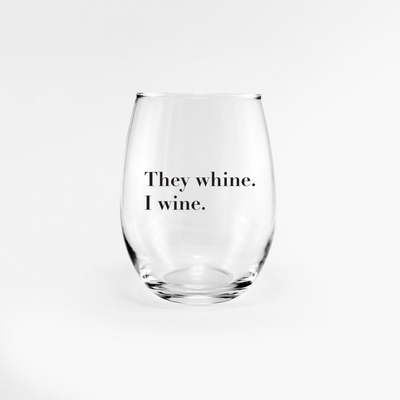 W(h)ine glass