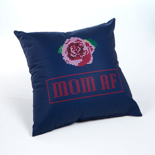 Mom AF pillow