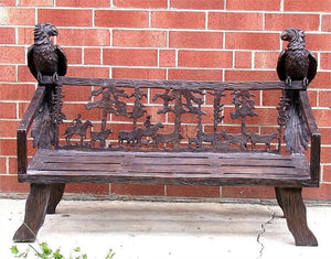 Astonishing Garden Benches Timelessbronze Com Gmtry Best Dining Table And Chair Ideas Images Gmtryco