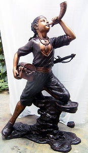 Life Size Pirate Boy Statue