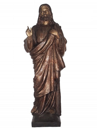 Life Size Sculpture of Jesus - Bronze