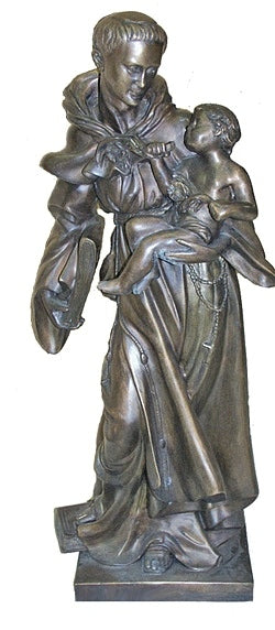 Saint Anthony with Child Sculpture
