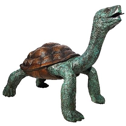 Large Sea Turtle Fountain Statue