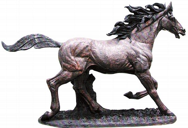 The Quest for Freedom Life Size Horse Sculpture
