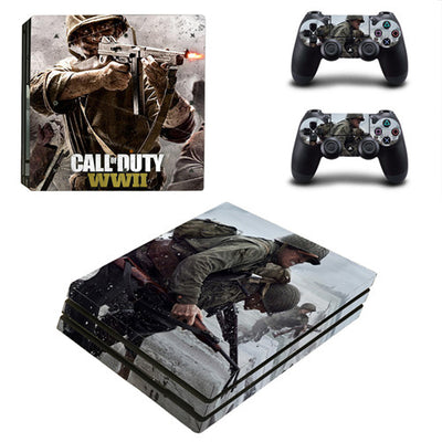 COD PS4 Console & Controller Sticker Decal - Pro Game Stop