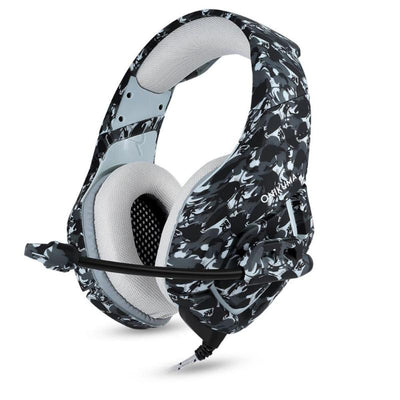 Camouflage Wired Gaming Headset - Pro Game Stop